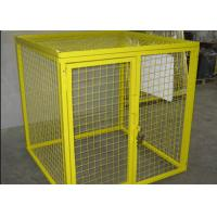 Buy cheap Multi Colors Flammable Storage Cage , Gas Bottle Safety Cages Removable from Wholesalers
