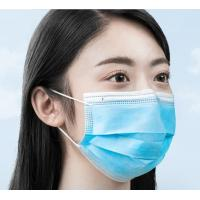 China 3ply Disposable non woven printing mouth-muffle face mask with round earloop,Anti Virus Surgical Mask 3 Ply Medical Indo factory