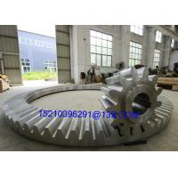 Buy cheap Custom Right Angle Stainless Steel Bevel Gears , Bevel Helix Gear Wheel from Wholesalers