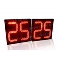 China 5V Red Color LED Countdown Timer For Basketball Game Customized Design factory