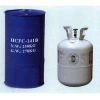 Buy cheap Refrigerant gas r141b in 250kg steel drum, cleaning agent R141b. foaming agent R141b from Wholesalers