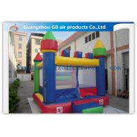 Buy cheap Classic Kids Blow Up Inflatable Bouncy Castle For Children Playground from Wholesalers
