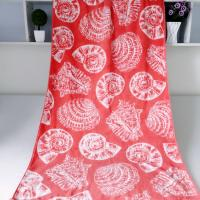 Buy cheap Seashell Linen Beach Towels / 100% Combed Cotton Bath Towel For Silver Wamsutta from Wholesalers