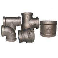 China Durable Malleable Iron Pipe Fittings , Adjustable Pipe Joints And Fittings on sale