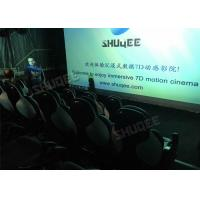 China Ergonomic 5D Theater System Motion Durable Seats In Commercial Center factory