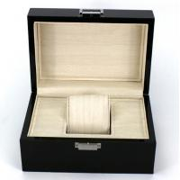 Buy cheap Rectangle Highend Jewelry Wooden Box With Silk Screen Printing Logo from Wholesalers