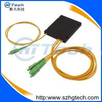 China ABS Box 1*2 PLC Fiber Optic Coupler with SC/APC connector for FTTH on sale