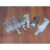 China Alloy Steel Investment Casting Vacuum Parts For ISO Double Claw Clamp factory