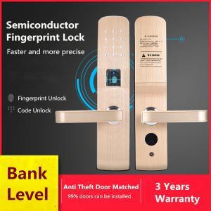 Buy cheap Anti - Theft Door Fingerprint Recognition Lock , Intelligent Electronic Password Lock from Wholesalers