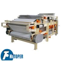 China Electric Controlled Belt Filter Press High Temperature Resistant For Biological Industry on sale