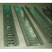 Buy cheap Punching Continuously Cable Tray Forming Machine 22KW with Cr12 Mould Steel from Wholesalers