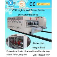 Buy cheap Single Slotting Adjustable Auto Carton Packing Machine / Corrugated Carton Machine from Wholesalers