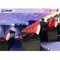 China Immersive 9D Cinema System With Spray Air And Water Function Indoor Theme Decoration factory