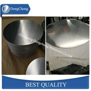 China Deep Drawing 1050 Aluminium Circle Plate GB/T Standard Thickness 0.4 - 4.0 mm factory