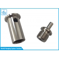 """China 1/8"""" 1/4"""" Stainless Steel Cable Clamps For Led Luminaire Suspension Kit factory"""
