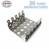 China 10 Pairs 5 Ways Stainless KRONE LSA Module Back Mounting Frame Silver Color on sale