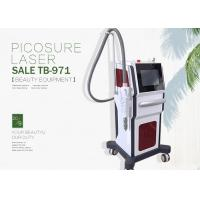 China Picosure 755nm 1064nm Nd Yag Laser Tattoo Removal Machine Spot Size 1 - 8mm on sale