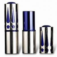 China Lipstick Tube with 70mm Height and Sand Polished, Customized Colors are Accepted factory