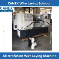 poly electrofusion fitting wire laying machine