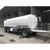 China Three Axles Fuel Tanker Full Heavy Duty Semi Trailers Mechanical Suspension on sale