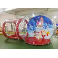 China Crystal Inflatable Bubble House  / Inflatable Lawn Bubble Tent Easy Assembly factory