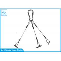 China Carabiner Flower Pot Hanging Kit Light Easy To Install For Space Greening factory