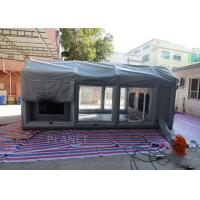 China PVC Tarpaulin Outdoor Inflatable Spray Booth Garage Tent Customized Size factory