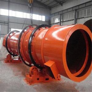 China Rotating 12.6-81.4 m3 Metallurgy Machine Continuous Drying Equipment Rotary Dryer factory