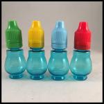 Buy cheap Safe Plastic Eye Dropper Bottles , Plastic Squeezable Dropper Bottles Non - Toxic from Wholesalers