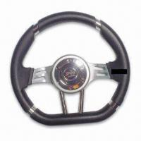 China 13-inch Steering Wheel in New Style, Various Colors are Available factory