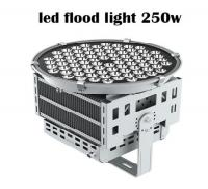 Top Quality White CE FCC ROHS Outdoor Fixture High Lumen 250W LED Flood Light
