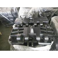 China Full Size Excavator Rubber Pads LS218RH5 Surface Hardening 2500 Hours Warranty factory