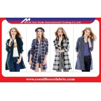 China Outdoor Cotton Spring Casual Womens Long Trench Coat In Europe And America factory