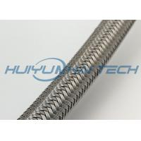 Buy cheap Cable Protection Stainless Steel Braided Sleeving Oil Corrosion Resistance from Wholesalers