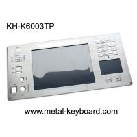 Quality Metal Keyboard with Digital Keypad and Touchpad  for Industrial Instrumentation wholesale