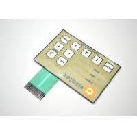 Buy cheap Push Button Metal Dome Membrane Switch Embossed And Tactile 80*80mm from Wholesalers