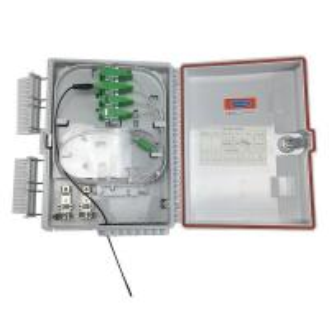 China FC / SC / LC Adapter Fiber Optic Terminal Box FTTH 24 Core IP68 on sale
