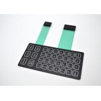 Buy cheap Lightweight Metal Dome Membrane Switch With PET/PC/PMMA/PVC Flat Push Buttons from Wholesalers