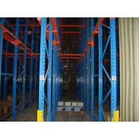 Buy cheap Q235 / 345 Warehouse Storage Drive In Pallet Racking Drive Through Racks For Cold Room from Wholesalers