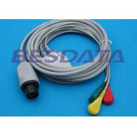 Buy cheap Universal ECG Cables And Leadwires For GE Dinamap / Critikon OEM / ODM Available from Wholesalers