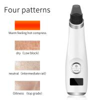 China USB Rechargeable Vacuum Electric Pimple Blackhead Remover Portable Beauty Device factory