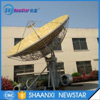 Buy cheap 9.0m big size 2-axis or 3-axis motorized ku band earth station satellite communication antenna from Wholesalers