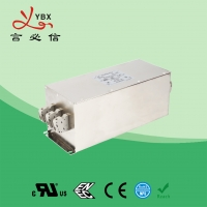 China Yanbixin 60A 250V 480VAC RFI Power Filter , Industrial Power Line RFI Filter factory