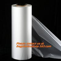 China Transparent cheap PE Stretch Film with different specifications, Plastic PVC stretch film factory