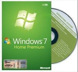COA Sticker Windows 7 Pro OEM Key , Windows 7 Home Premium Download
