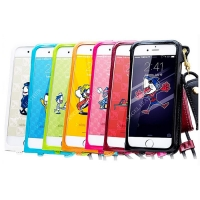 China PU leather Impact IPhone 7 8 key chain pouch Mobile Phone Safety Cover factory