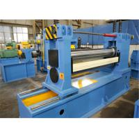 Buy cheap Minimum Burr Steel Slitting Line , Steel Cut To Length Line Automatic Coil Loading from Wholesalers