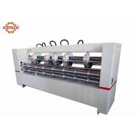 China Creasing Slitter Scorer , Automatic Corrugated Cardboard Thin Blade Slitter factory