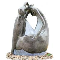 Buy cheap Fiberglass Resin Garden Fountains Beautiful Lady Marble Color for Garden Decorative from Wholesalers