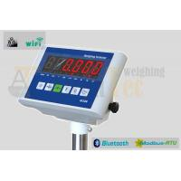 China China Weight Indicator , Electronic Weighing Indicator with Red LED Display factory